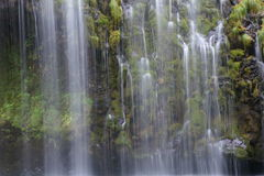 Mossbrae Falls In Dunsmuir, California Stock Images