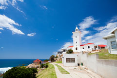 Mossel Bay. Beautiful lighthouse in Mossel bay, South Africa Royalty Free Stock Image