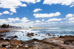 Mossel bay beach Royalty Free Stock Photo