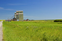 Mossleigh grain elevators Stock Photo
