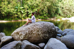Mossman Gorge. In Daintree National Park, Queensland, Australia Stock Photos