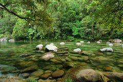 Mossman Gorge. Mossman River, Daintree National Park, Queensland, Australia Royalty Free Stock Photos