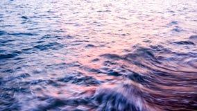 Mosso dell'onda del mare Fotografia Stock