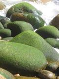 mossy βράχοι στοκ εικόνες με δικαίωμα ελεύθερης χρήσης