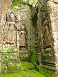 mossy ναός πετρών καταστροφών angkor wat Στοκ εικόνες με δικαίωμα ελεύθερης χρήσης