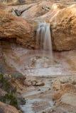 Mossy πτώσεις σπηλιών στενό σε επάνω στοκ φωτογραφία