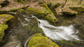 Mossy Falls in Kelly Hollow Royalty Free Stock Images