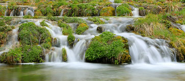 Mossy Waterfall Stock Images