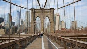 Mostów Brooklyńskich pedestrians przejście zbiory