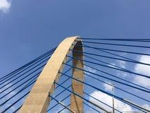 Mostów kable Zdjęcia Stock