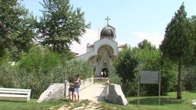 Most świątynia Święty Petka w Rupite, Bułgaria zdjęcie wideo