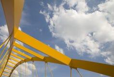 most żółty Fotografia Royalty Free