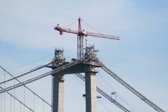 most 1 crane Obrazy Royalty Free