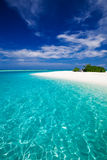 The most amazing beach on a tropical island Stock Photo
