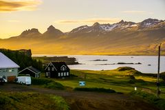 The most amazing country in the world, Iceland. stock images