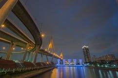 Most, autostrada, droga, Zdjęcia Stock