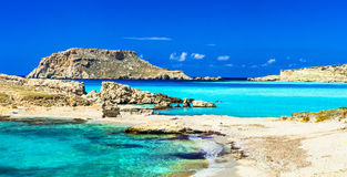 Most beautiful beaches of Greece Royalty Free Stock Photography