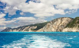 Porto Katsiki coast Royalty Free Stock Photography