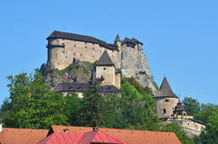 Most beautiful castle in Slovakia,Europe stock images