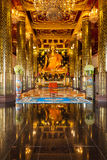The Most Beautiful Golden Buddha in the World. Located in  Wat Phra Si Rattana Mahathat  Phitsanulok, Thailand Stock Photo