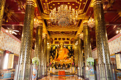 The Most Beautiful Golden Buddha in the World. Located in  Wat Phra Si Rattana Mahathat  Phitsanulok, Thailand Stock Photos