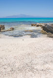 Most beautiful and impressive beach at Crete Island, Greece royalty free stock photos