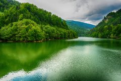 The Most Beautiful Lake in mountain Royalty Free Stock Images
