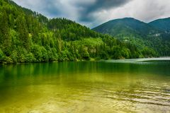 The Most Beautiful Lake in mountain Royalty Free Stock Photo