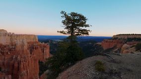 Most beautiful landmark in Utah - the famous Bryce Canyon National park. USA 2017 stock video