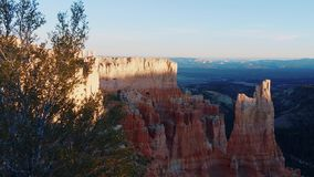 Most beautiful landmark in Utah - the famous Bryce Canyon National park. USA 2017 stock footage