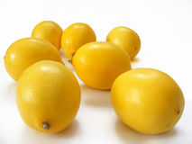 The most beautiful multi-lemon pictures for fruit juice packaging caps Royalty Free Stock Images