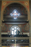 The most beautiful Synagogue in Bucharest Stock Images