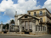 The most beautiful tourist places in Havana on Cuba Royalty Free Stock Photography