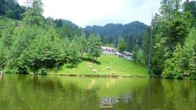 Most beautiful view of Banjosa lake Azad Kashmir Pakistan