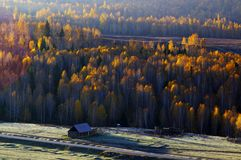 The most beautiful village of China. Hemu Royalty Free Stock Photo