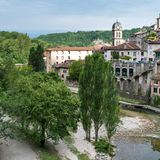 Most beautiful village in provence Stock Images