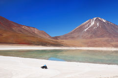 The most beautifull Andes in South America Stock Images