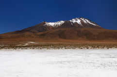 The most beautifull Andes in South America Stock Photo
