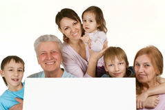 Most bliss Caucasian family happy fool Stock Photo