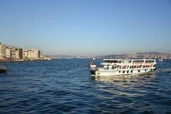 most bosfor promie Istanbul przechodzącego indyk Obrazy Royalty Free