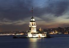 most bosfor promie Istanbul przechodzącego indyk Obraz Stock