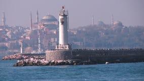 most bosfor promie Istanbul przechodzącego indyk Fotografia Stock