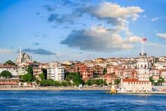 most bosfor promie Istanbul przechodzącego indyk Zdjęcia Royalty Free