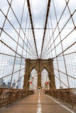Most Brooklyński, nikt, Miasto Nowy Jork usa obraz stock