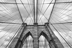 Most Brooklyński w NYC, usa zdjęcia royalty free