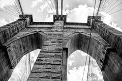 Most Brooklyński zdjęcia stock