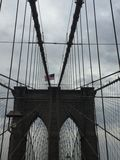 Most Brooklyński Nowy Jork Obraz Stock