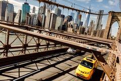 Most Brooklyński w Miasto Nowy Jork Obraz Stock