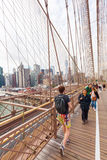 Most Brooklyński w Miasto Nowy Jork Zdjęcia Stock