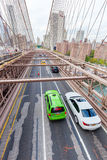 Most Brooklyński w Miasto Nowy Jork Zdjęcie Stock